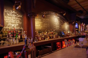 The bar at the Hubbard Inn